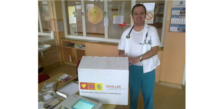 EKG and Fetal Monitor to the Medical Center in Batočina